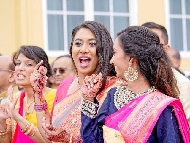 Mahul and Pooja's Wedding in Daytona Beach, Florida 52