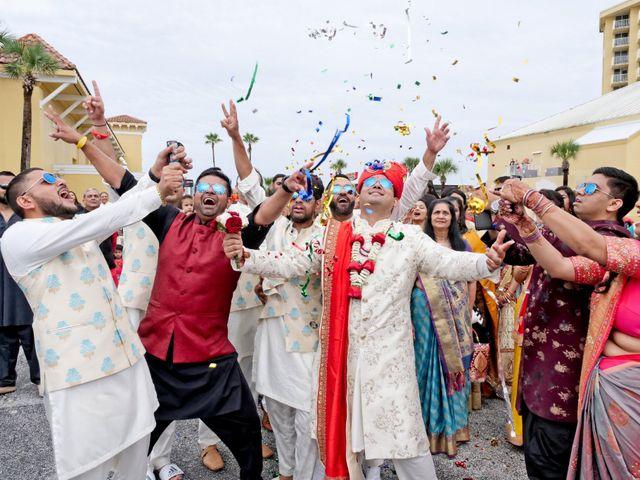Mahul and Pooja's Wedding in Daytona Beach, Florida 53