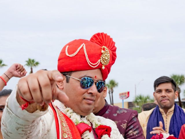 Mahul and Pooja's Wedding in Daytona Beach, Florida 55