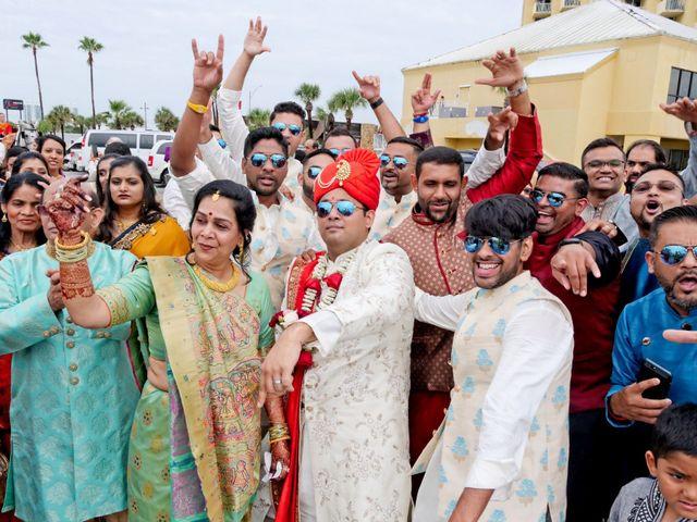 Mahul and Pooja's Wedding in Daytona Beach, Florida 56