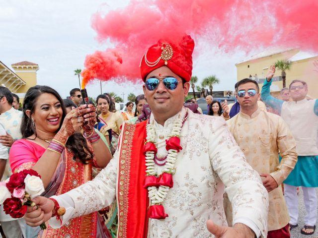 Mahul and Pooja's Wedding in Daytona Beach, Florida 57