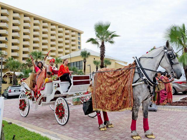 Mahul and Pooja's Wedding in Daytona Beach, Florida 59
