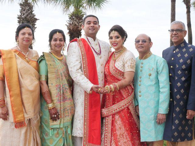 Mahul and Pooja's Wedding in Daytona Beach, Florida 71
