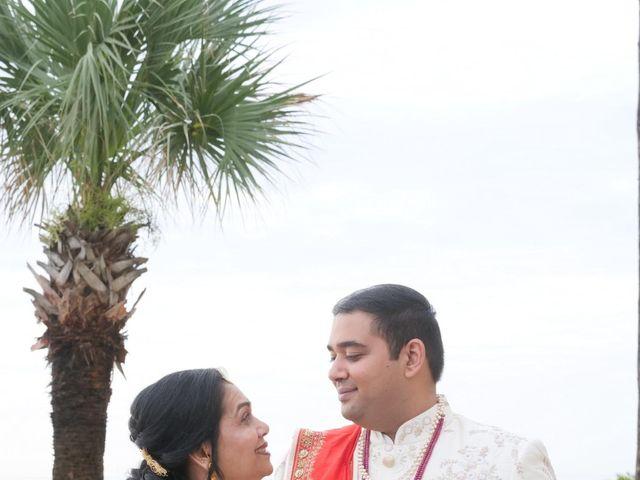 Mahul and Pooja's Wedding in Daytona Beach, Florida 73
