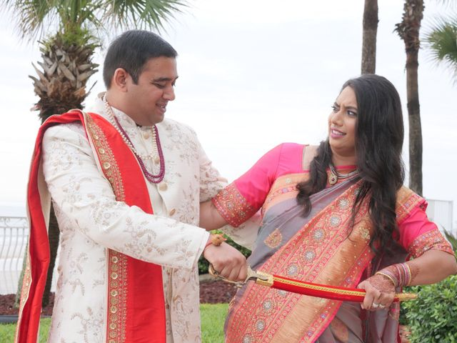 Mahul and Pooja's Wedding in Daytona Beach, Florida 74