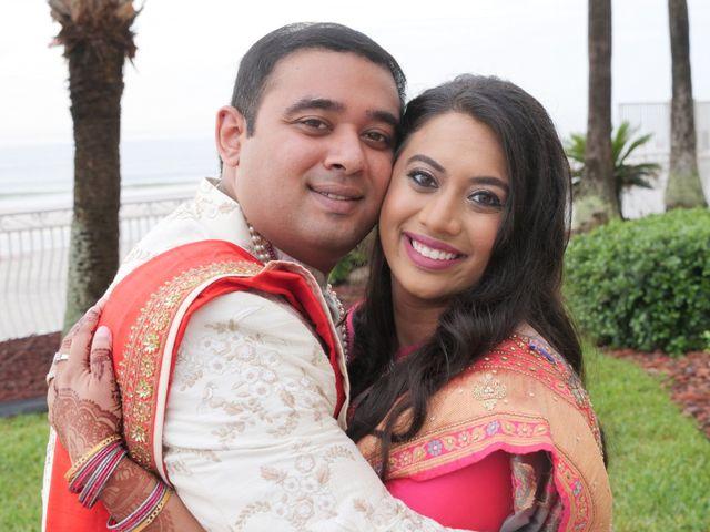 Mahul and Pooja's Wedding in Daytona Beach, Florida 75