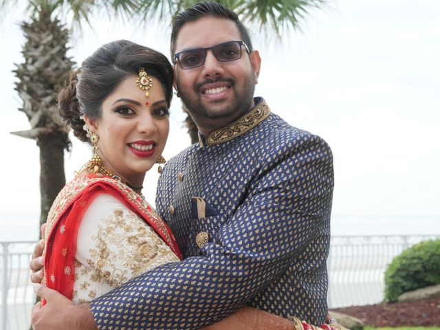 Mahul and Pooja's Wedding in Daytona Beach, Florida 76