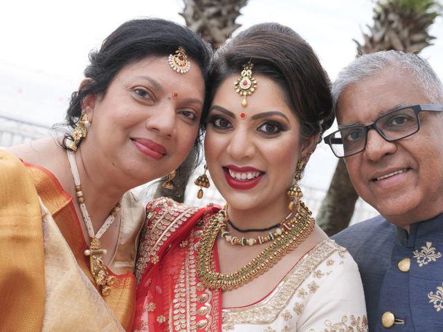 Mahul and Pooja's Wedding in Daytona Beach, Florida 77