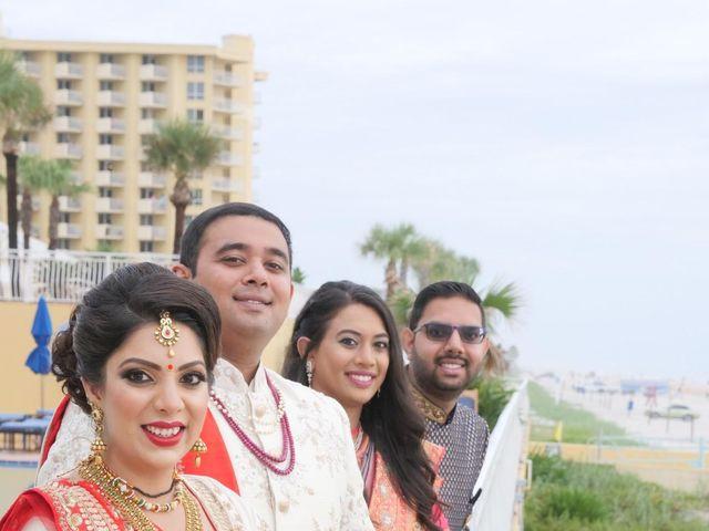 Mahul and Pooja's Wedding in Daytona Beach, Florida 78