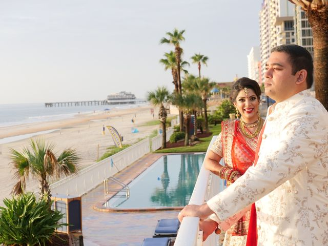 Mahul and Pooja's Wedding in Daytona Beach, Florida 80