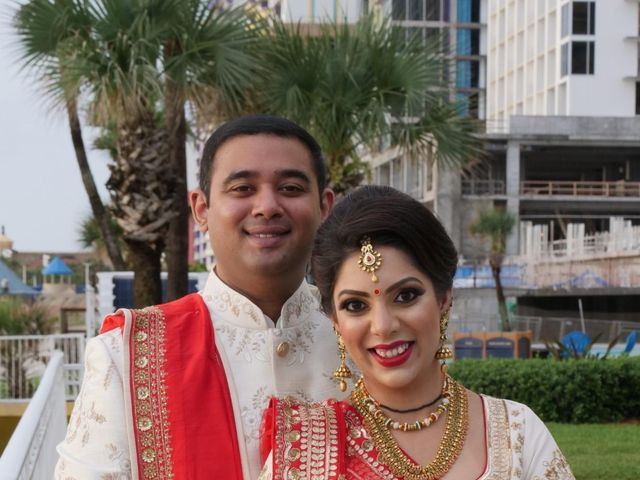 Mahul and Pooja's Wedding in Daytona Beach, Florida 81