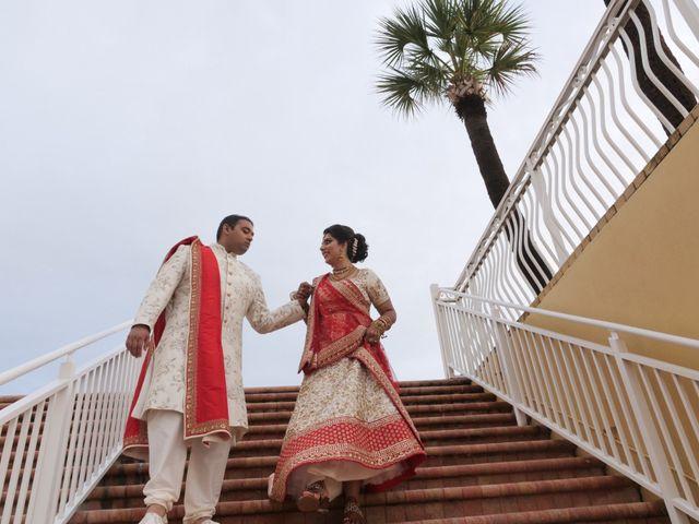 Mahul and Pooja's Wedding in Daytona Beach, Florida 82