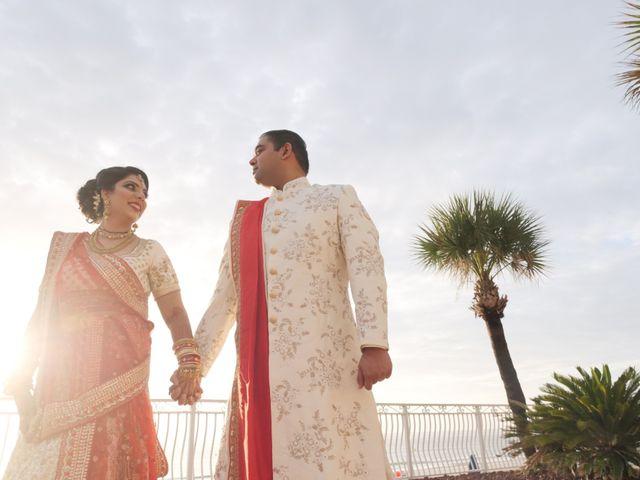 Mahul and Pooja's Wedding in Daytona Beach, Florida 83