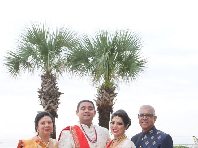 Mahul and Pooja's Wedding in Daytona Beach, Florida 84