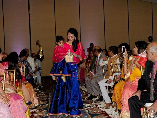Mahul and Pooja's Wedding in Daytona Beach, Florida 90