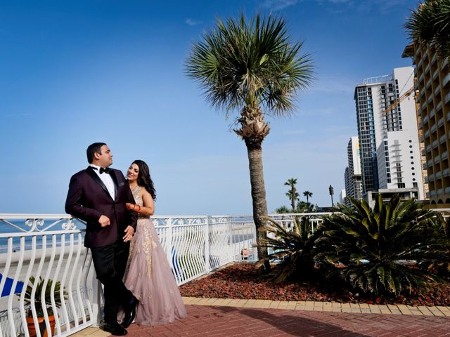 Mahul and Pooja's Wedding in Daytona Beach, Florida 123