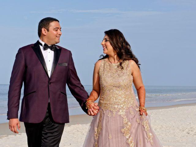 Mahul and Pooja's Wedding in Daytona Beach, Florida 131