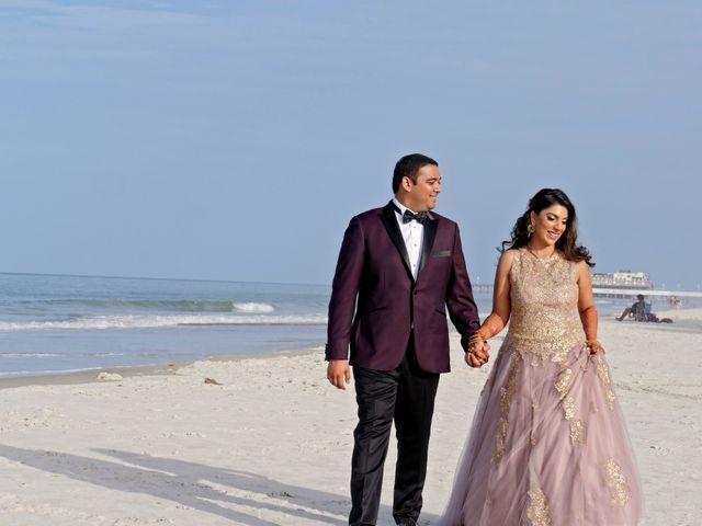 Mahul and Pooja's Wedding in Daytona Beach, Florida 134