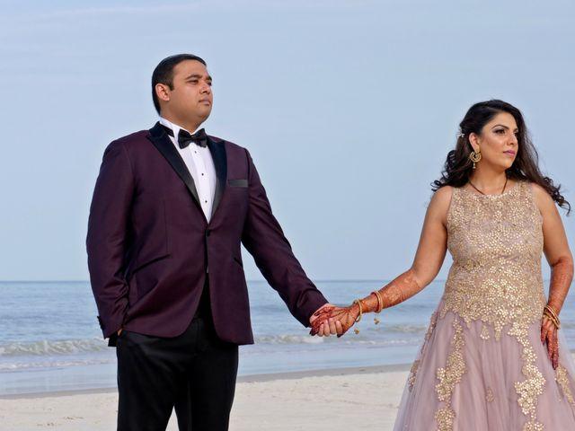 Mahul and Pooja's Wedding in Daytona Beach, Florida 135