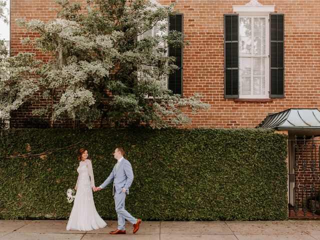 The wedding of Anna and James