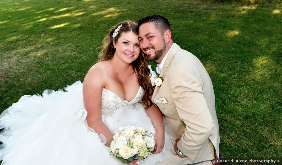 Chad and Rebeca's Wedding in Sandpoint, Idaho