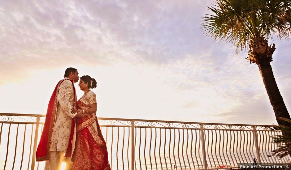 Mahul and Pooja's Wedding in Daytona Beach, Florida