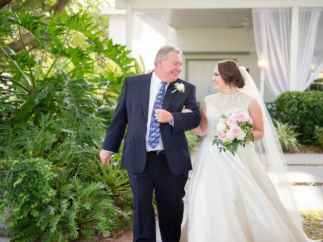 Courtney and James's Wedding in Tampa, Florida 12
