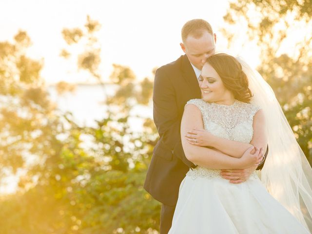 Courtney and James's Wedding in Tampa, Florida 14