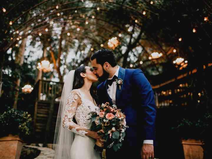The wedding of Rodaina and Robert