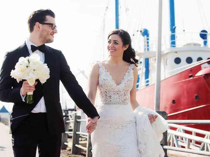 The wedding of Sara and David