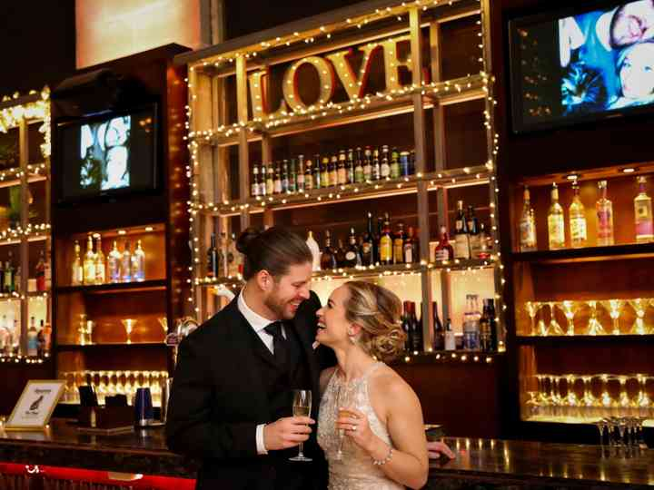 The wedding of Justina and Kevin