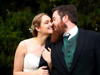 The wedding of Marissa and Chris