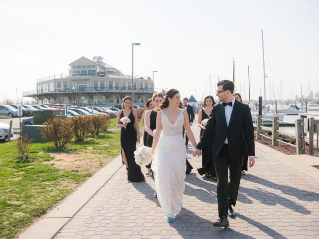 David and Sara's Wedding in Jersey City, New Jersey 35