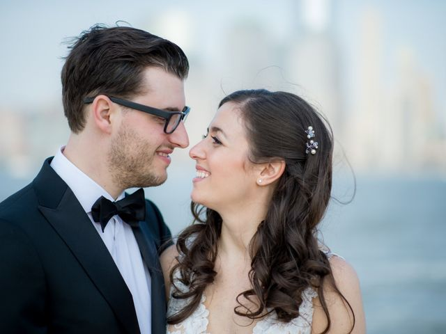 David and Sara's Wedding in Jersey City, New Jersey 42