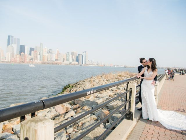 David and Sara's Wedding in Jersey City, New Jersey 43