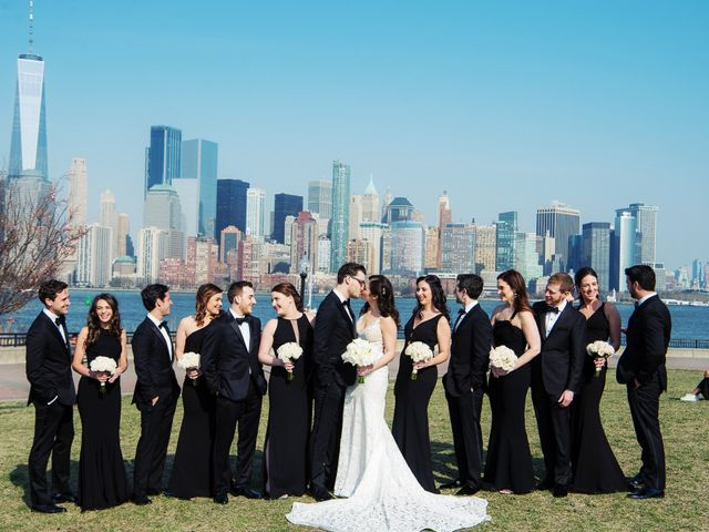 David and Sara's Wedding in Jersey City, New Jersey 39