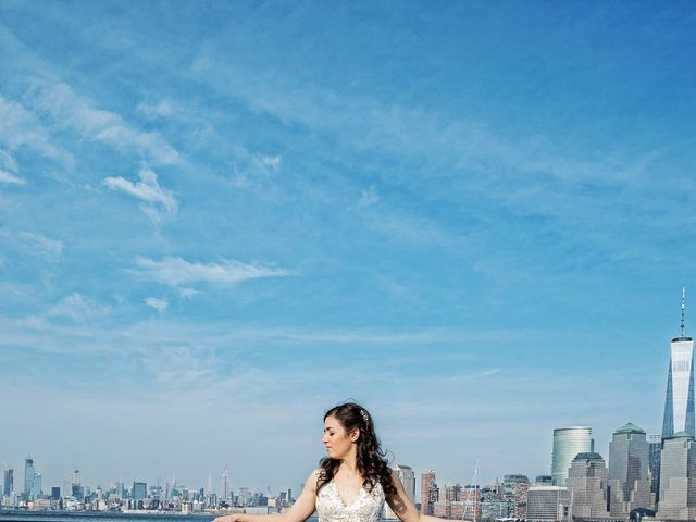 David and Sara's Wedding in Jersey City, New Jersey 41