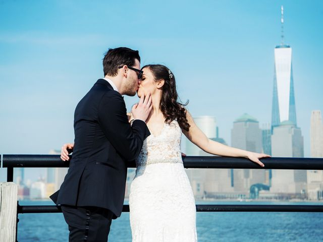 David and Sara's Wedding in Jersey City, New Jersey 38