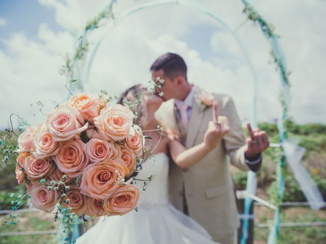 Levy and Anne Marie's Wedding in Port Bolivar, Texas 1