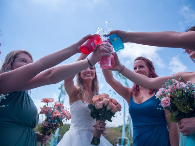 Levy and Anne Marie's Wedding in Port Bolivar, Texas 3
