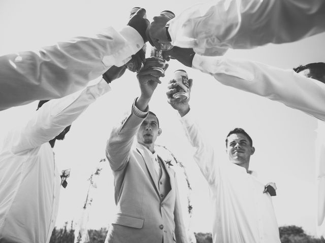 Levy and Anne Marie's Wedding in Port Bolivar, Texas 4