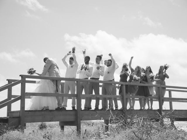 Levy and Anne Marie's Wedding in Port Bolivar, Texas 5