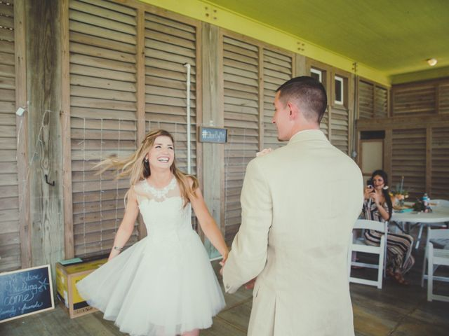 Levy and Anne Marie's Wedding in Port Bolivar, Texas 7
