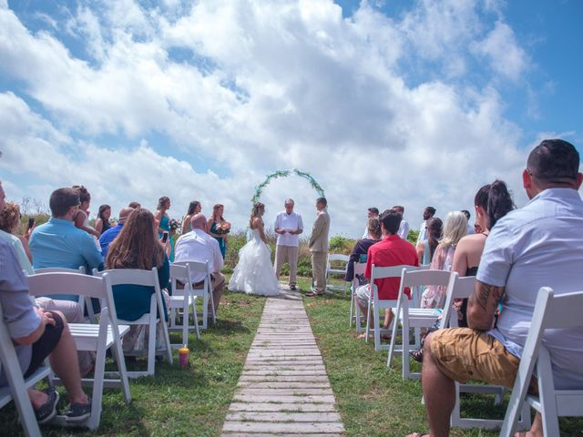 Levy and Anne Marie's Wedding in Port Bolivar, Texas 9