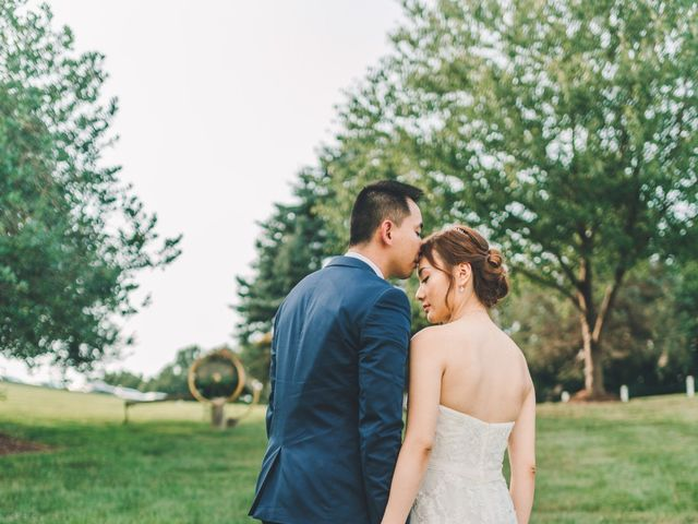 Tao and Chloe's Wedding in Frederick, Maryland 11