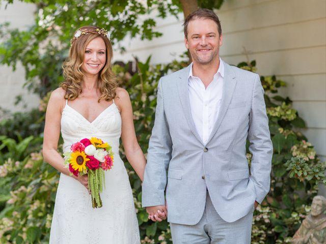 The wedding of Christian and Lisa