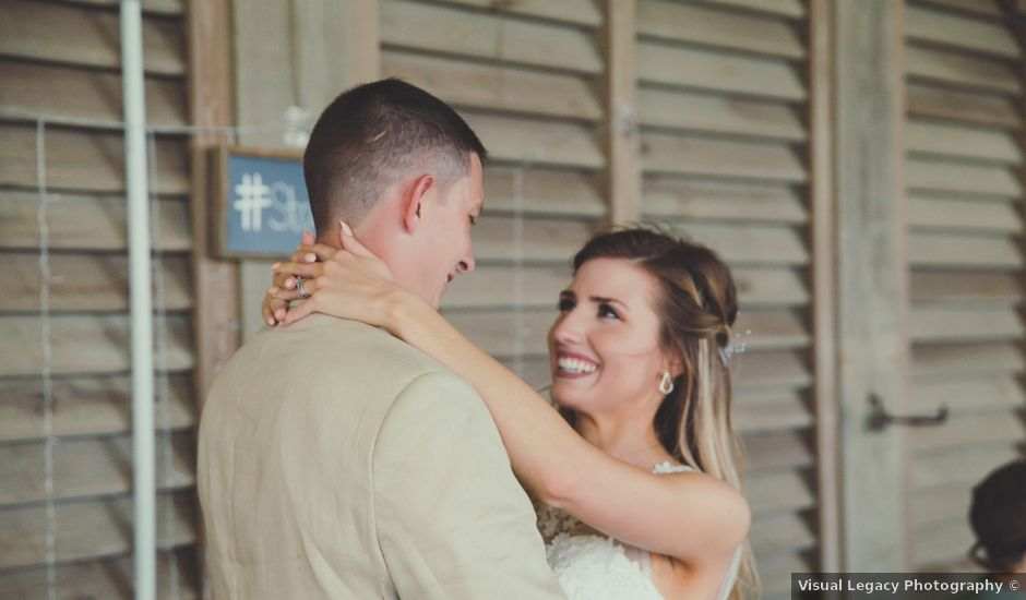 Levy and Anne Marie's Wedding in Port Bolivar, Texas