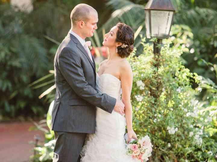 The wedding of Chris and Kathy