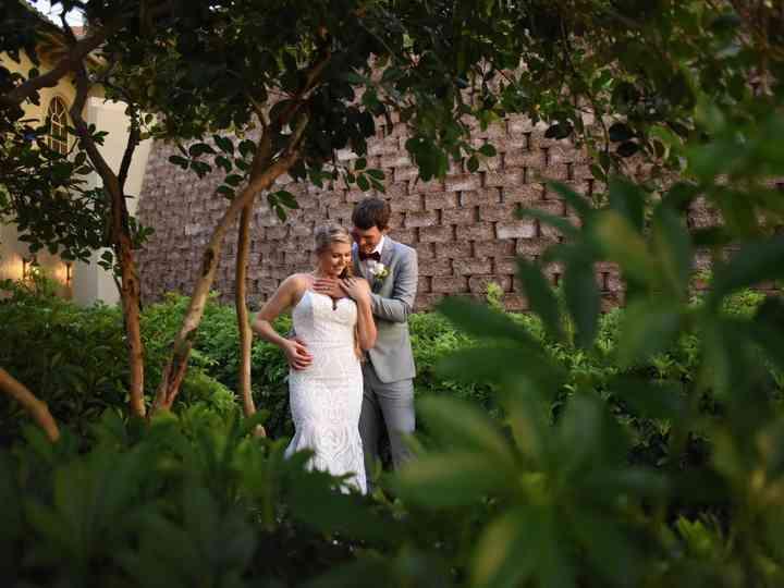 The wedding of Julie and Derek