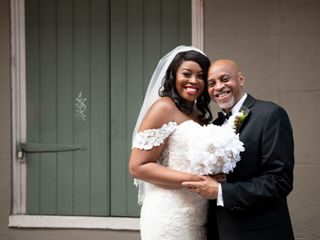 The wedding of Shamika and Jeffery